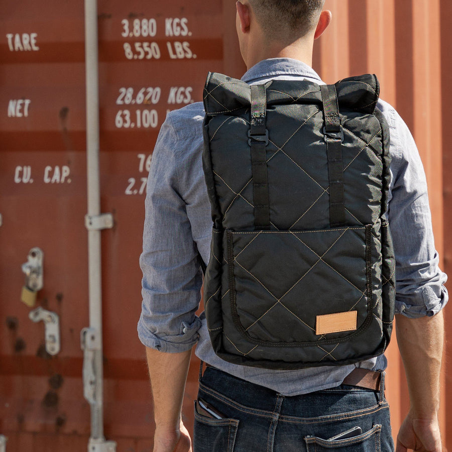 Heritage Ruck Black and Coyote Tan