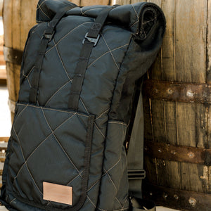 Heritage Ruck Black and Coyote Tan Savage Gentleman