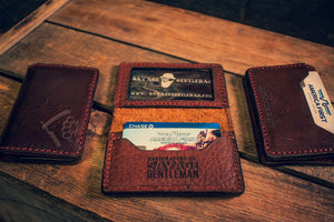 American Bison Bifold Wallet Savage Gentleman