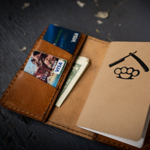 Notebook Wallet (Saddle)