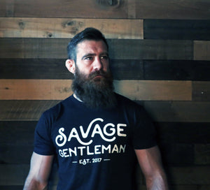 Savage Gentleman Handwritten Tee
