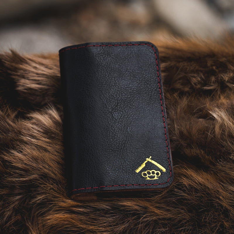 Expedition Wallet - Classic Black Leather Goods Savage Gentleman