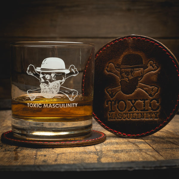 Toxic Masculinity Whiskey Combo Drinkware Savage Gentleman