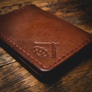 Tradesman Wallet- Vintage Brown Leather Goods Savage Gentleman