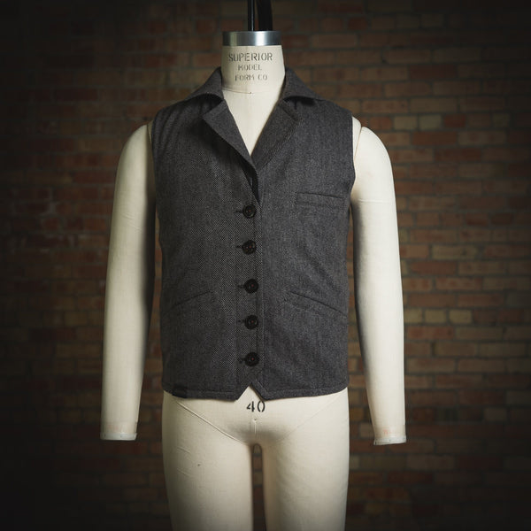 """The Porter"" Reversible Vest Vest Savage Gentleman"