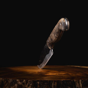 """Kodiak"" Hand Forged Knife Knives Savage Gentleman"
