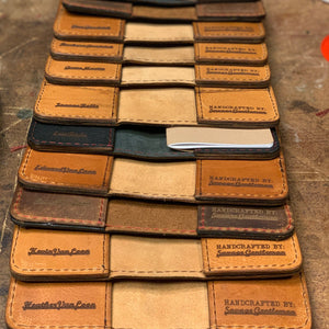 Notebook Wallet (Saddle) Leather Goods Savage Gentleman