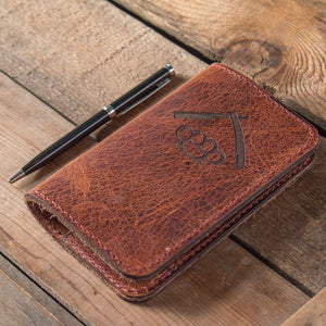 Water Buffalo Leather Notebook