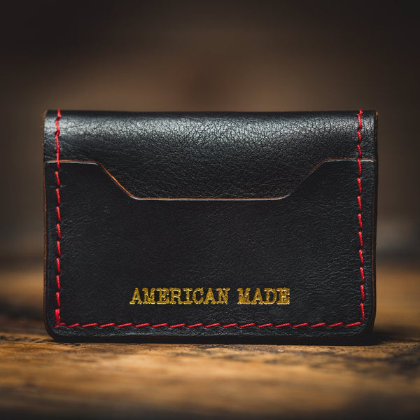 "Tradesman Wallet - ""The Rockefeller"" Leather Goods Savage Gentleman"