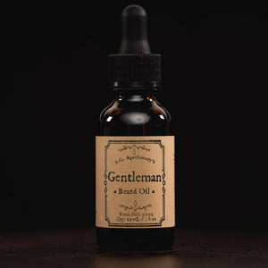 """Gentleman"" Beard Oil Grooming Savage Gentleman"