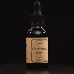 """Gentleman"" Beard Oil"