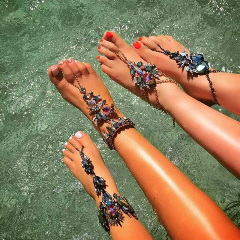 images best beaded stirling anklets female feet pinterest delicate by feminine jewelry anklet bracelet ankle bracelets on vickiegorse ourserendipitystones