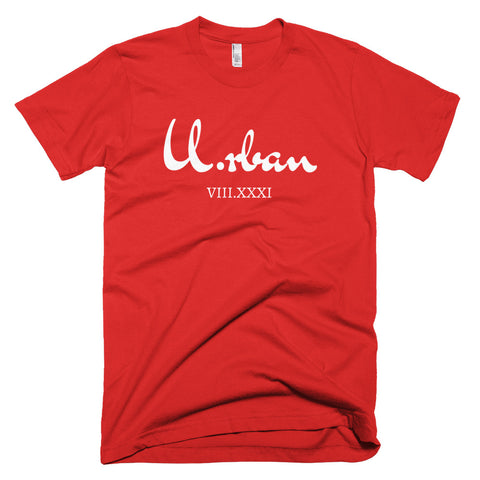 Short sleeve U.rban Race T-shirt(Red)