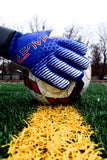 Mauer Goalkeeper Glove Eikon Royal Blue Ball Grip