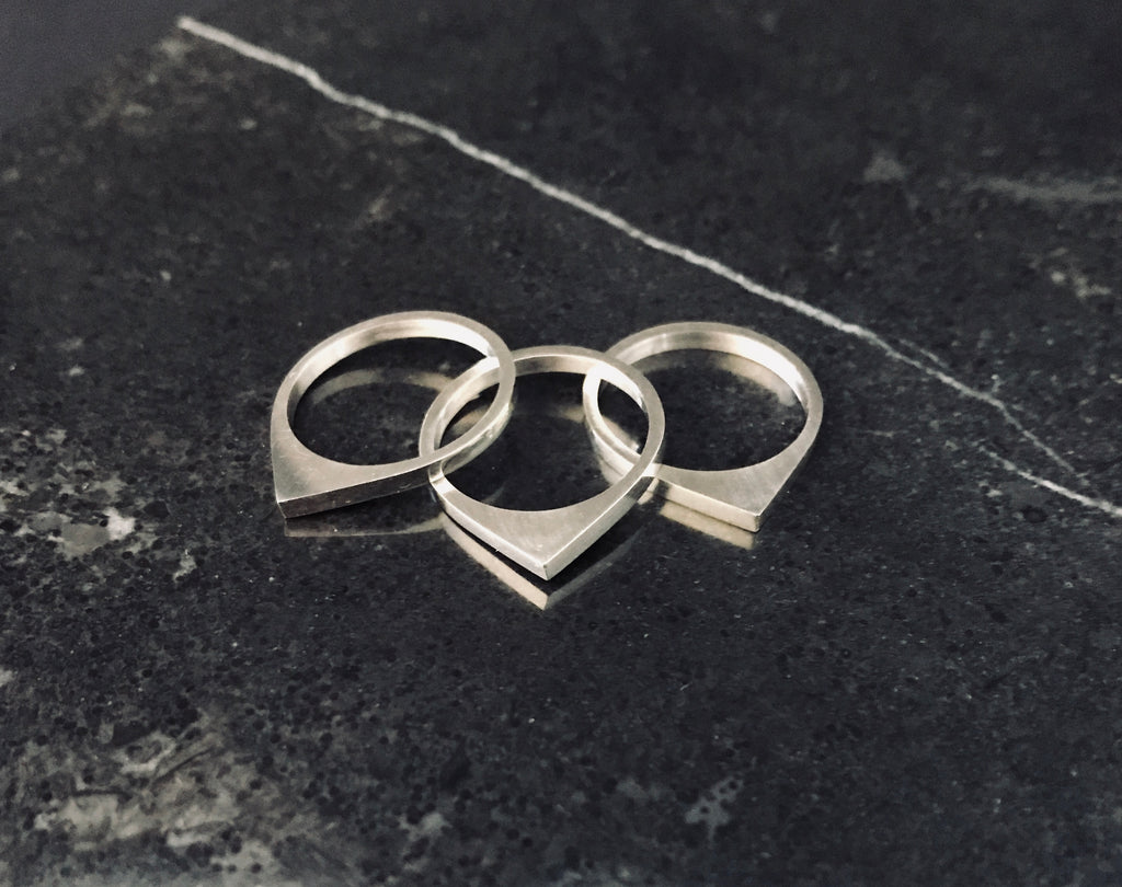 MOONRISE RINGS - SET OF 3