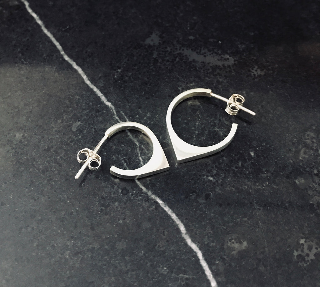 MOONRISE HOOP EARRINGS