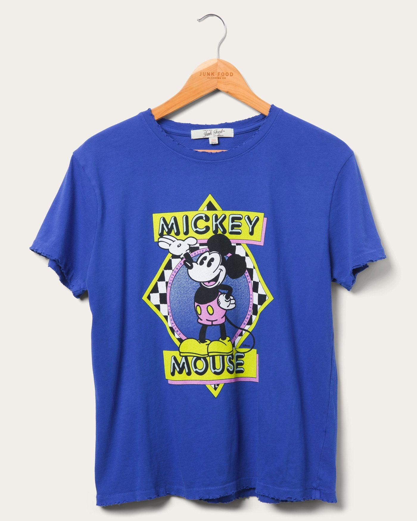 Vintage Mickey Mouse Oversized Neon T Shirt