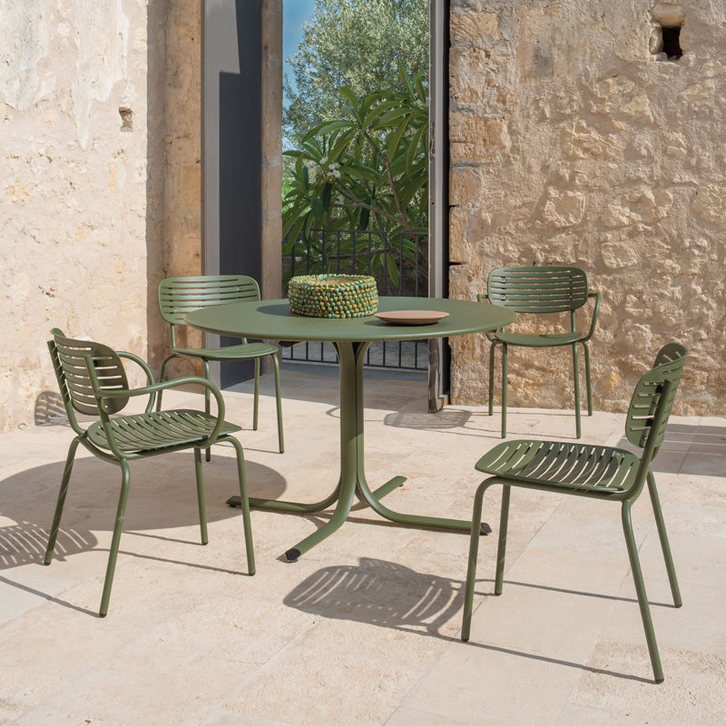 Green Outdoor Dinning Chairs