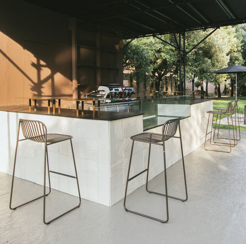 Modern Outdoor Bar Seating