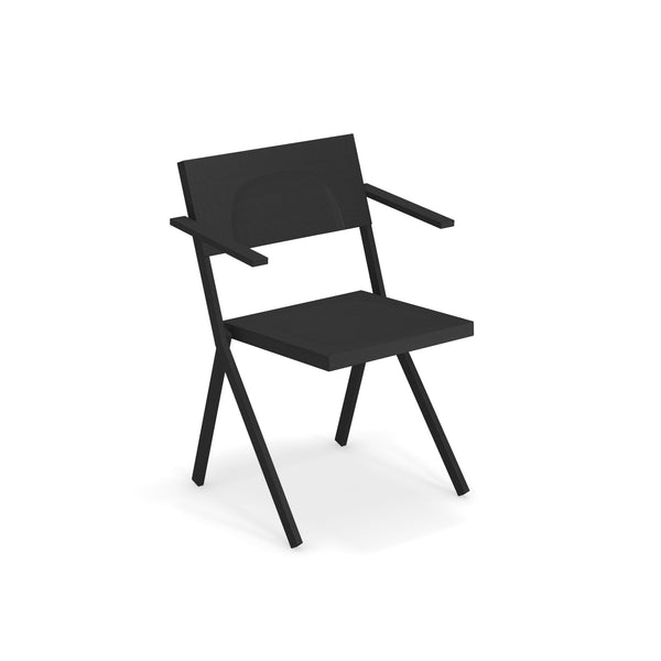 Mia #411, an outdoor chair for home or patio use. Modern high-end patio & balcony furniture from emuliving.