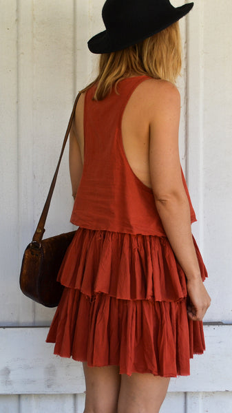 ONETEASPOON Tiered Summer Dress