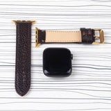 Apple Watch Band  Brown Premium Floater Leather