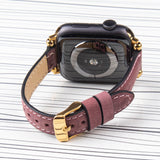 "Apple Watch Band Slim ""Crazy Horse"" Leather"