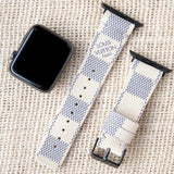 Apple Watch Band Classic LV Monogram Damier Azur