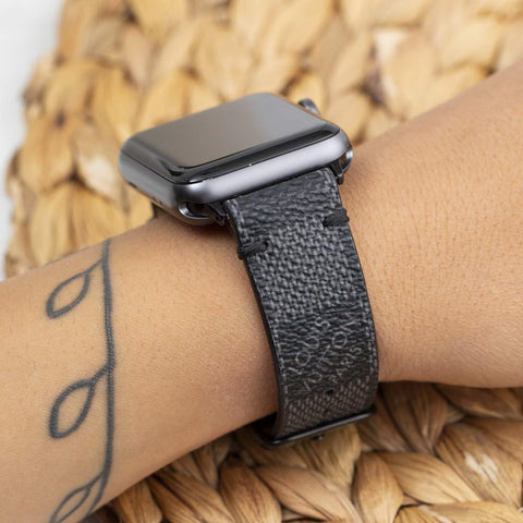 Apple Watch Band  Damier LV Monogram Graphite
