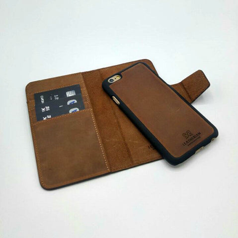 Iphone 8, 8 Plus Magnetic Wallet Case