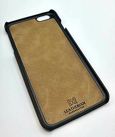 Iphone Snap-on Leather Cover 8 8 plus