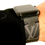 Apple Watch Band Classic LV Monogram Eclipse Graphite