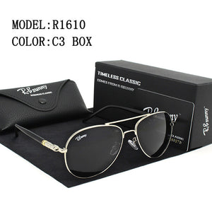 Sunglasses men women sun glasses R.Bsunny R1610 high quality polarized women sunglasses HD Glare UV400