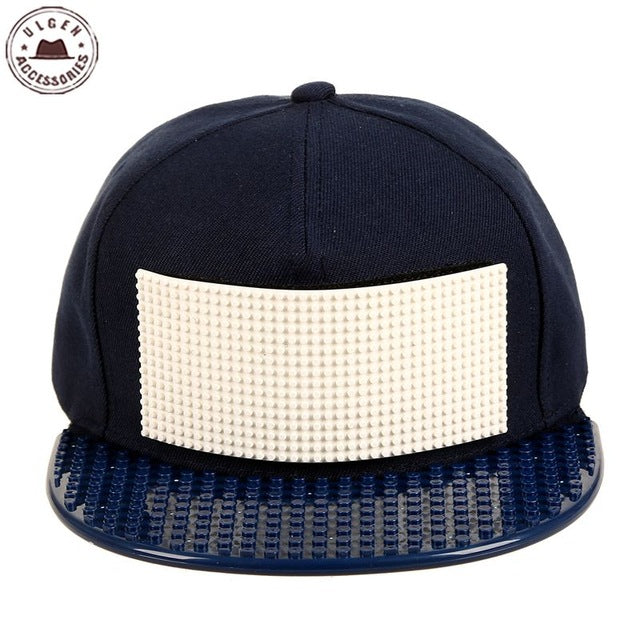 New customize Legos cap high quality blocks bricks DIY legos baseball hat cool trucker snapback