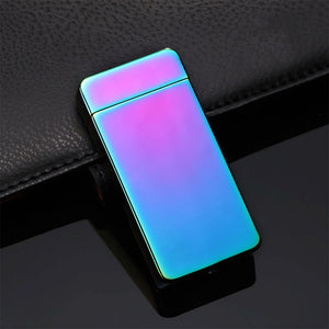 Newest Electric Lighter Plasma Recharge  USB  Lighters 5 Colors Available
