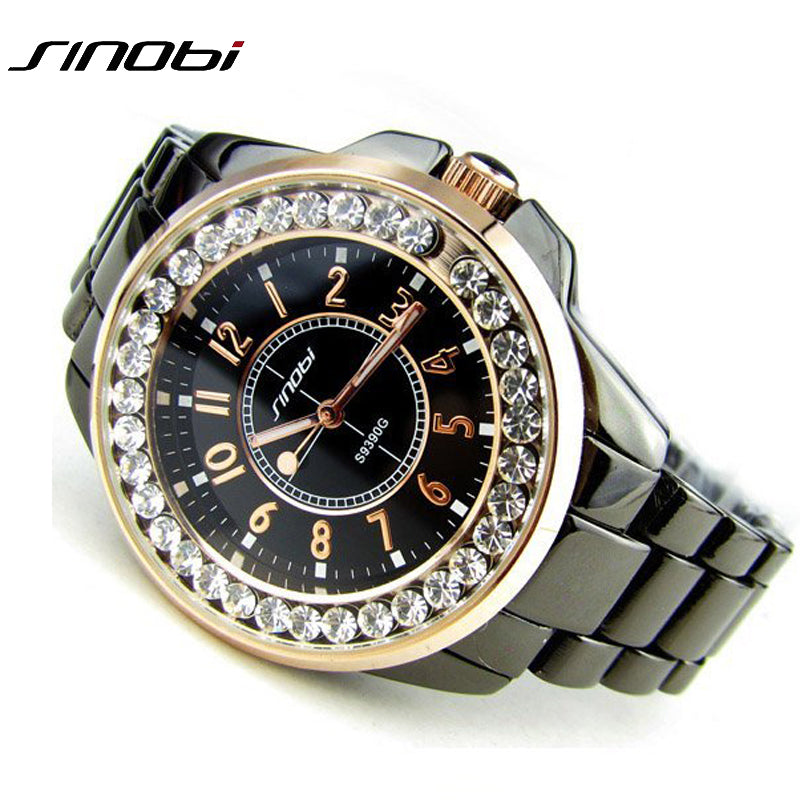 Female Ladies Dress Wristwatch Gift Silver Gold 2017