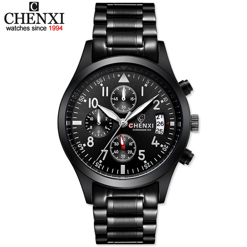 CHENXI Sports Multifunction Quartz Watch Mens