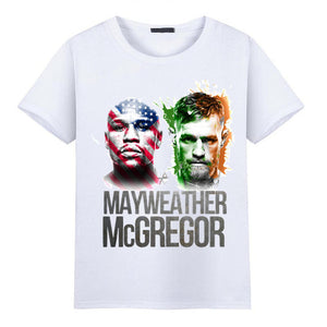 2017 Floyd Mayweather vs Conor McGregor T-shirts