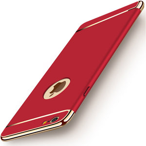 Red thin Case for iphone 7 6 6s Plus 7Plus Case