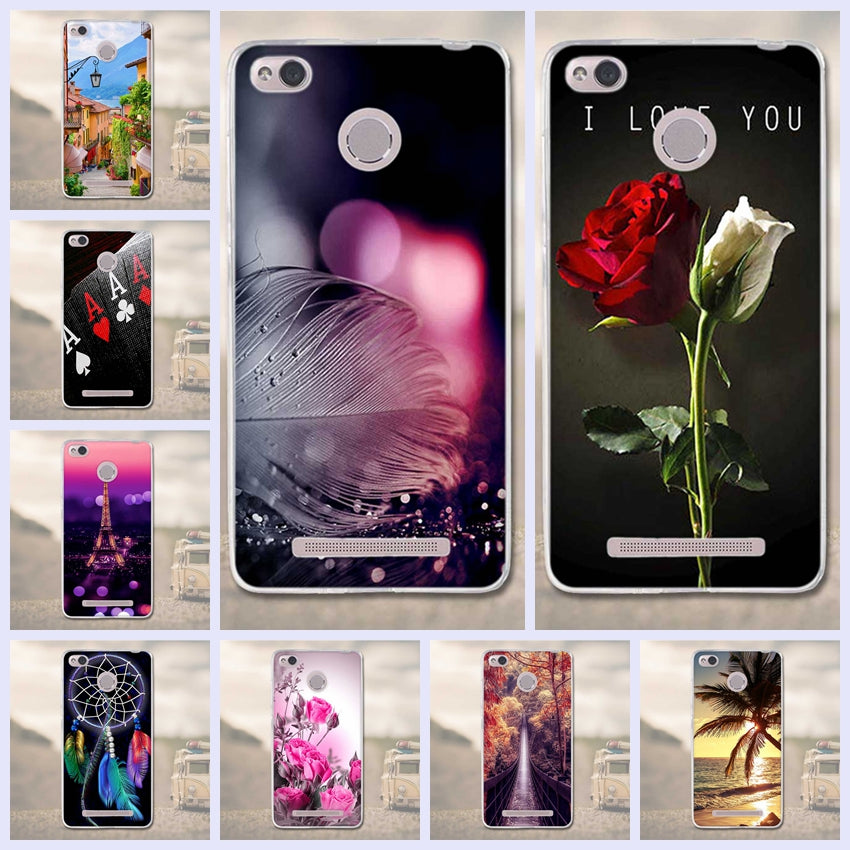 Phone Cases For Xiaomi Redmi 3 Pro 3s Redmi 3s