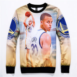Stephen Curry Jordan Sweatshirt Men 3D Printed Mens Streetwear Hoodies And Sweatshirts Sportswear Hip Hop Hoodie Spring Hooddies