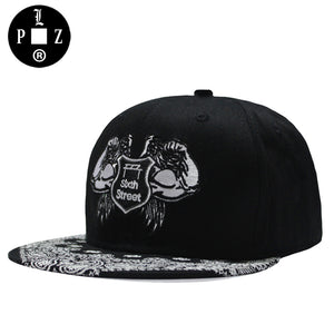 PLZ HIP HOP Snapback baseball caps Men