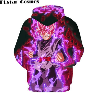 Classic Anime Dragon Ball Z Strong Wukong Hooded Sweatshirts Men Women fashion Loose Hoodies Goku/Vegeta Pullovers