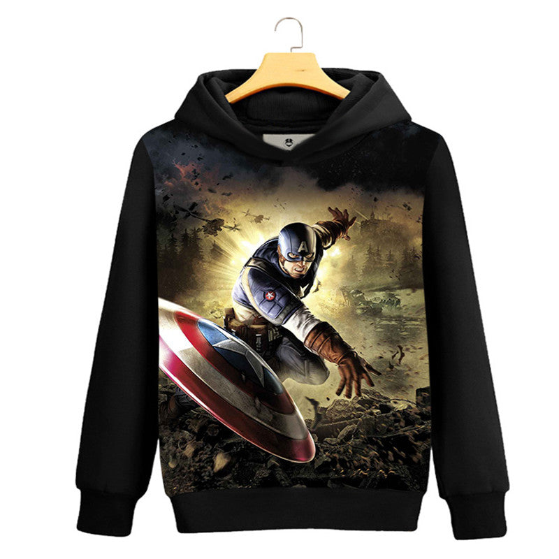 Captain America Vs Ironman hoodies men men Hoodies Sweatshirts Hoody jacket Team Alter hoodies