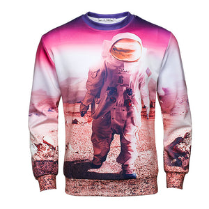 Astronaut Hip Hop Pullover Sweat