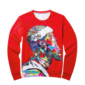 Harajuku style men/women's 3D sweat shirts pullover hoodie
