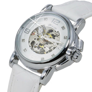 Mechanical Transparent watch Lady