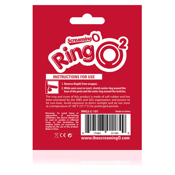 RingO2 C-Ring with Ball Sling in Clear