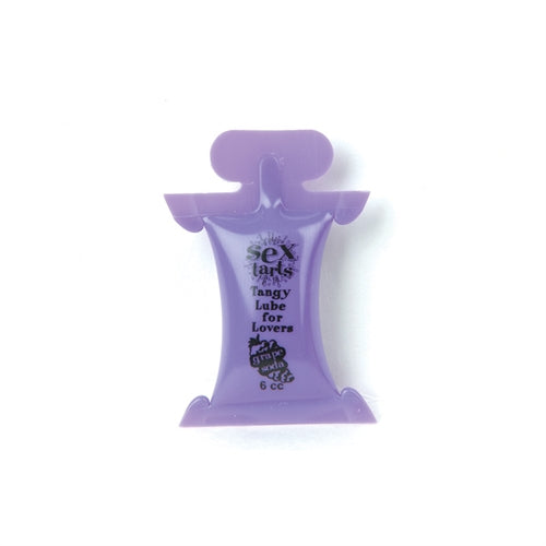 Sex Tarts Tangy Lube 6ml in Grape Soda