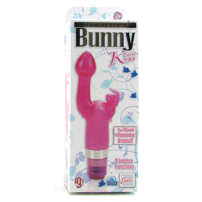 Platinum Edition Bunny Kiss Vibrator in Pink